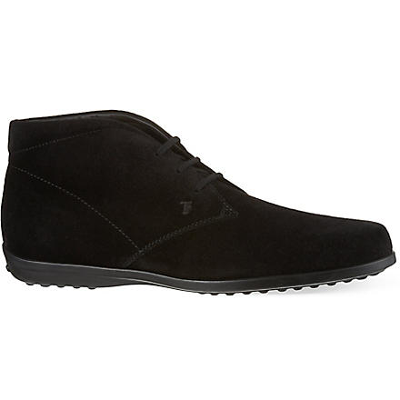 TODS Suede ankle boots (Black