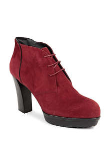TODS Gomma lace-up ankle boots
