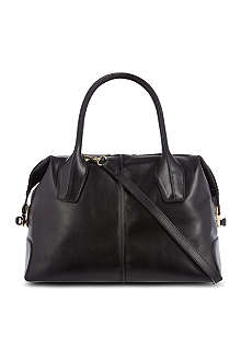 TODS Bauletto leather tote