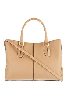 TODS D-cube shopper bag