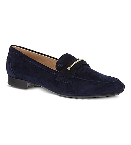 TODS Suede loafers (Navy