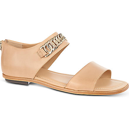 TODS Leather sandals (Beige