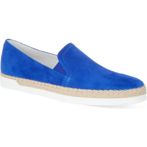 Gomma rafia slip-on shoes