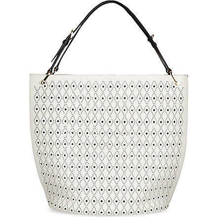 TODS Secchiello medium tote (White