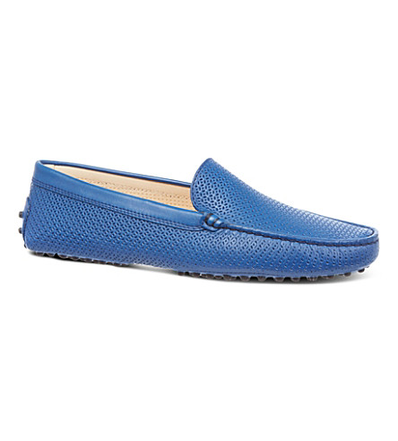 TODS Gommino Driving Shoes in Leather (Blue