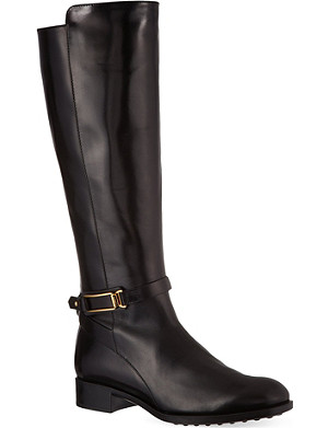 TODS Gomma Leggero leather boots