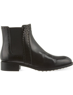 TODS Gomma leather ankle boots