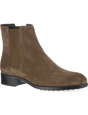 TODS Gomma ankle boots in suede