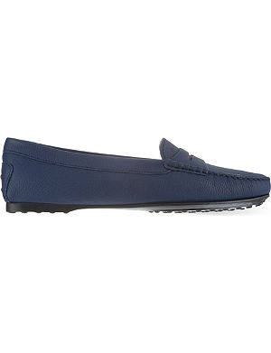 TODS Gomma leather moccasins
