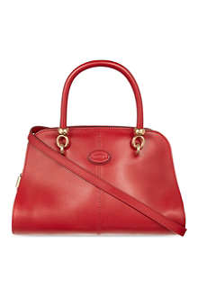 TODS Bauletto Piccolo leather tote