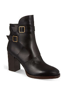 TODS Heeled leather ankle boots