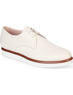 TODS Lace-up leather derby shoes