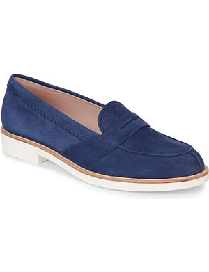 TODS Nubuck leather loafers