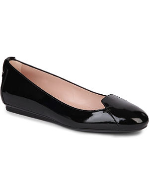 TODS Patent Leather ballet flats