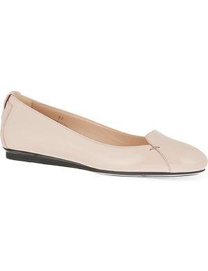 TODS Ballerina patent flats