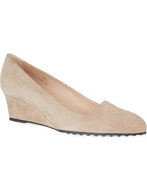 TODS Zeppa wedge heels
