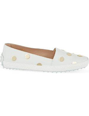 TODS Gommino studded driving shoes