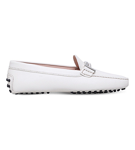 TODS Gommini maxi leather driving shoes