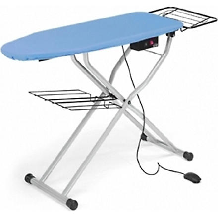 LELIT Heated ironing board with side rack