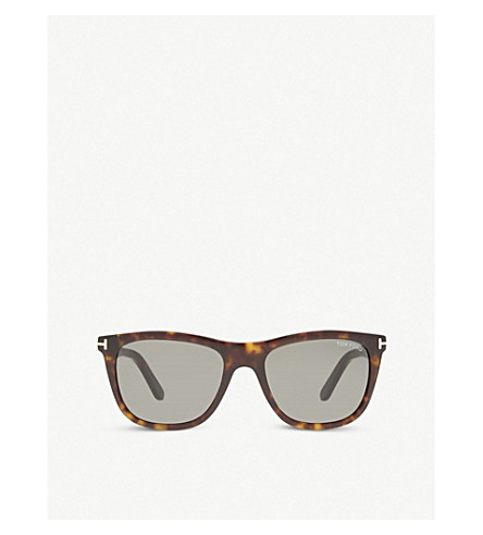 TOM FORD Andrew TF500 square-frame sunglasses (Tortoise