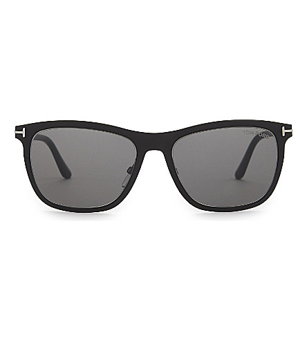 TOM FORD Alasdhair Tf526 square-frame sunglasses (Black