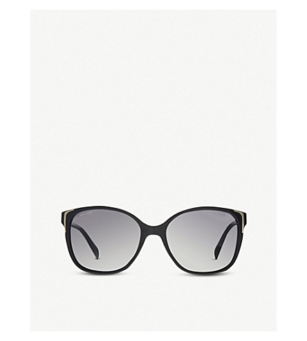 PRADA Pr01o5 square sunglasses (Black