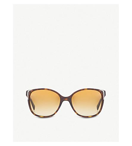PRADA PR01OS square sunglasses (Havana