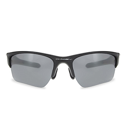 OAKLEY Half Jacket 2.0® XL 2.0 PRIZM™ wrap sunglasses (Polished+black