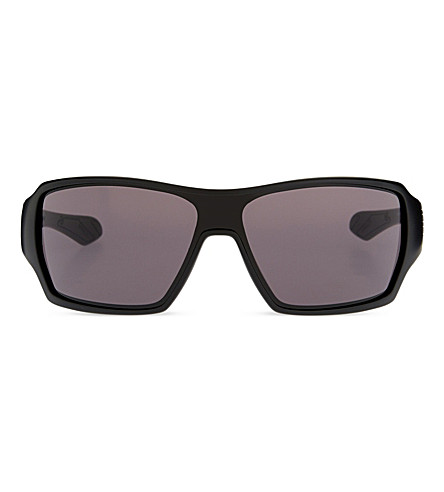 OAKLEY Offshoot OO9190-01 wrap sunglasses (Black