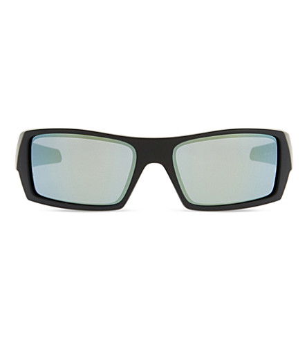 OAKLEY Gascan 26-245 wrap sunglasses (Black