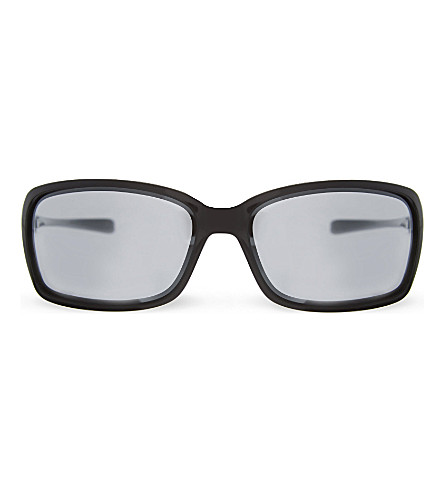 OAKLEY Ooo9233 rectangle sunglasses (Polished+black