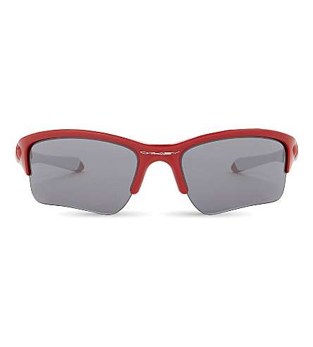 OAKLEY Quarter Jacket™ wrap sunglasses (Redline