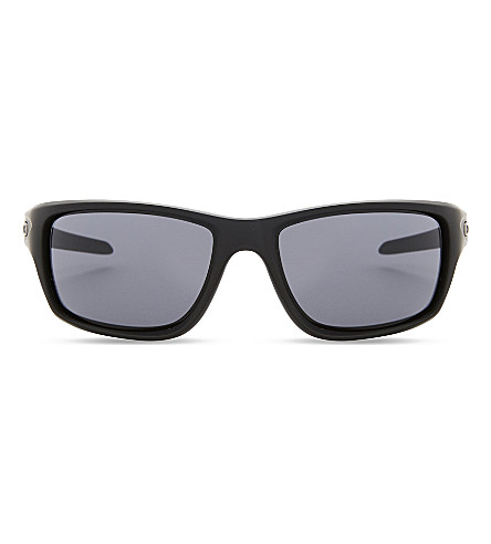 OAKLEY Canteen rectangle-frame sunglasses (Matte+black