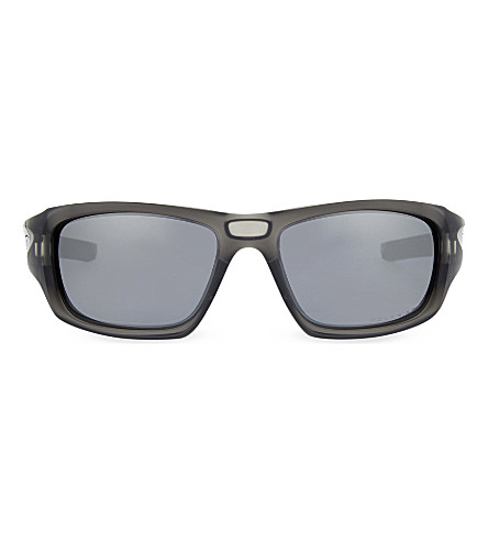 OAKLEY OO9236 Matte rectangle sunglasses (Matte+grey