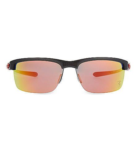OAKLEY OO9174 Carbon Blade HDPolarized sunglasses (Red
