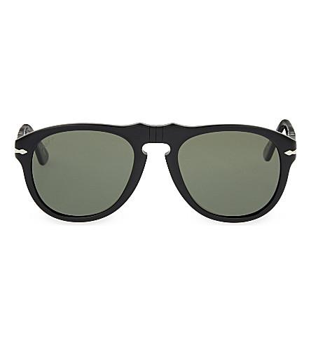 PERSOL Aviator sunglasses (Black