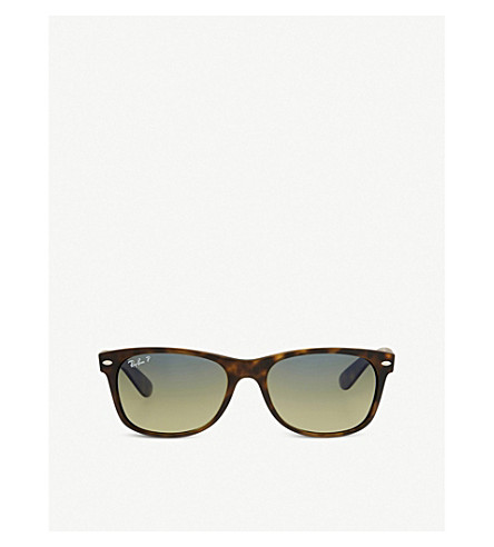 RAY-BAN Rb2132 tortoiseshell new wayfarer sunglasses (Matte+havana