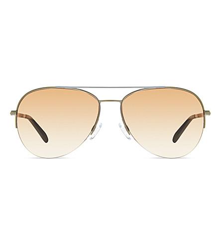 MICHAEL KORS MK1001 Gramercy aviator sunglasses (101914silver