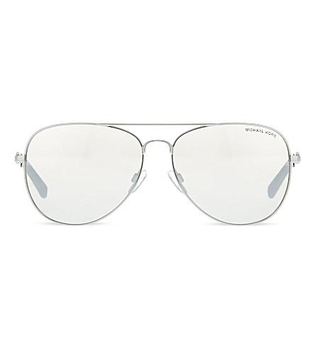 MICHAEL KORS MK1003 Fiji aviator sunglasses (10016gsilver