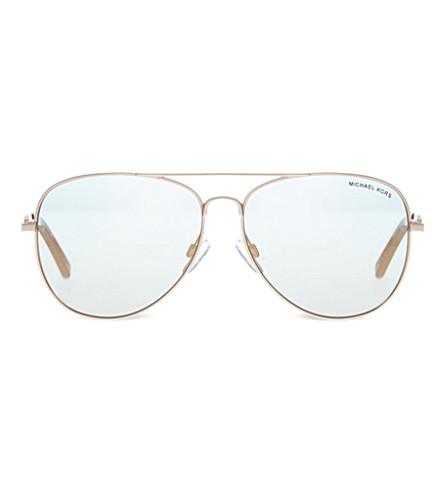MICHAEL KORS MK1003 Fiji aviator sunglasses (1003r5pink