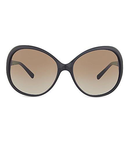 MICHAEL KORS MK2008B Andorra round sunglasses (3005t5black