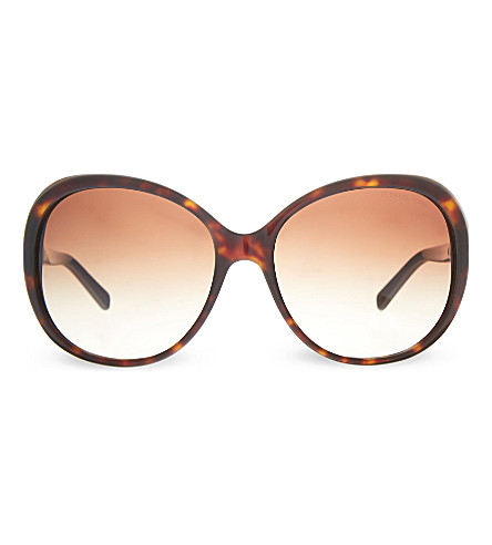 MICHAEL KORS MK2008B Andorra round sunglasses (300613brown
