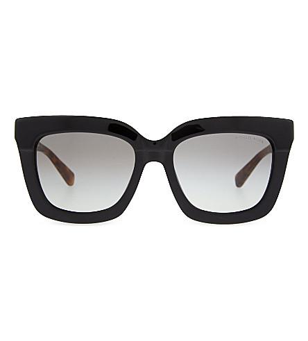 MICHAEL KORS Polynesia square sunglasses (Tortoise
