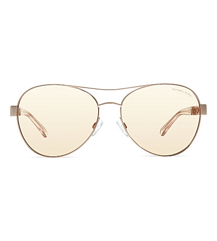 MICHAEL KORS MK5003 Caligari aviator sunglasses (1003r1pink