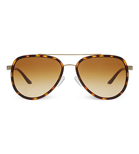 MICHAEL KORS MK5006 Playa Norta aviator sunglasses (Tortoise/gold