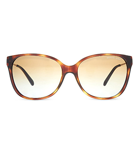 MICHAEL KORS MK6006 Marrakesh square sunglasses (Dk+tortoise
