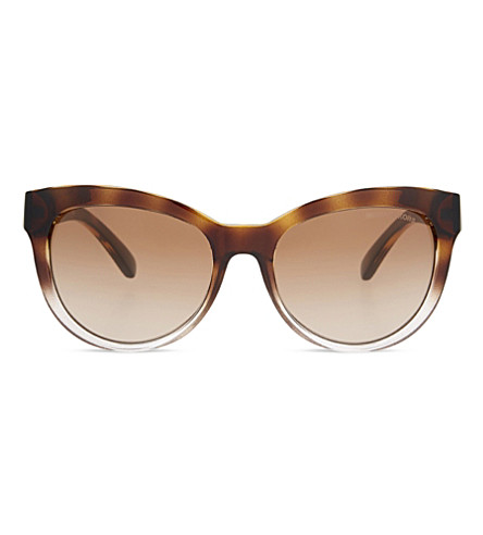 MICHAEL KORS Mk6035 Mitzi I cat-eye frame sunglasses (Brown