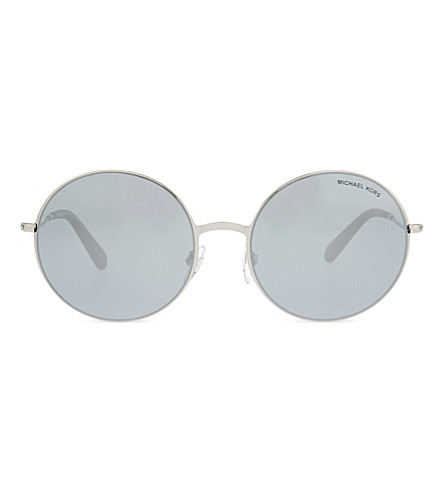 MICHAEL KORS Mk5017 Kendall II round-frame sunglasses (Silver
