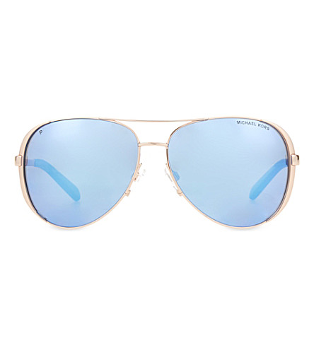 MICHAEL KORS MK5004 pilot sunglasses (Rose+gold