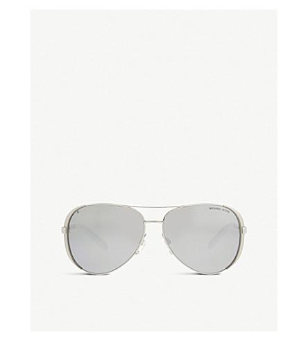 MICHAEL KORS Mk5004 Chelsea aviator sunglasses (Silver